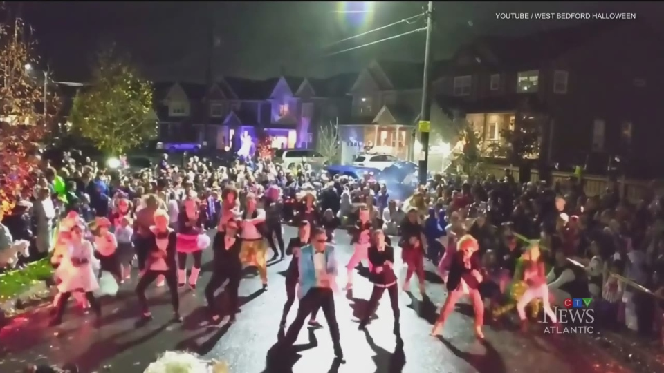 Mob mentality: Halloween tradition moves online