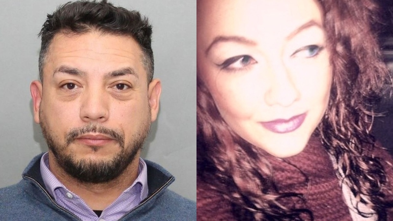 Richard Isaac (left) and Victoria Selby-Readman (right) are seen in this composite image. (Toronto Police Service)