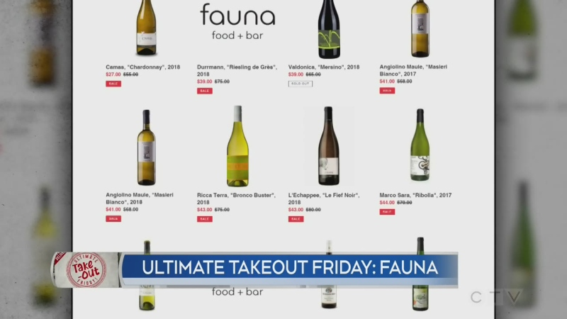 Ultimate Take-Out Friday: Fauna