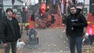 COVID hasn't dampened elaborate Halloween display