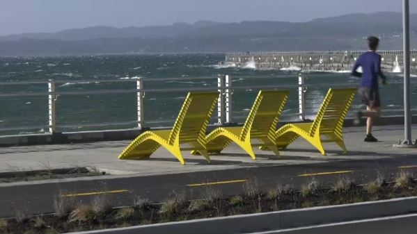 The City of Victoria says the project, which redesigned the Dallas Road waterfront and replaced the old concrete balustrade between Ogden Point and Clover Point, was completed on time and under budget: (CTV News)