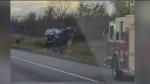 Veteran truck driver suffers heart attack on 401