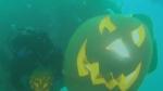 Underwater Jack-o-Lanterns near Wakefield