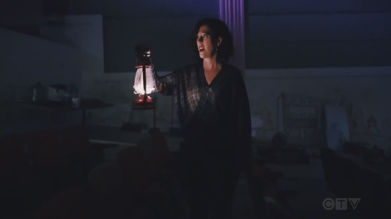 Northern Ontario's Heidi Korte sings 'Haunted' during a video filmed at the old Lasalle Theatre in Kirkland Lake.