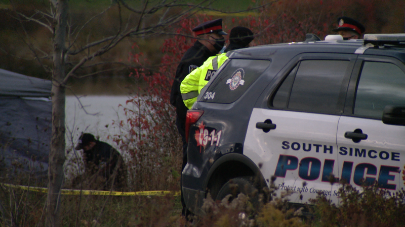 The OPP Underwater Search and Recovery Unit in Bradford, Ont., on Fri., Oct. 30, 2020.