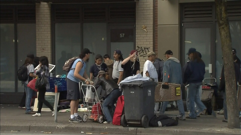 Virus hits DTES homeless shelter