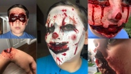 He's only 12, but he is already a master of horror makeup, and Jeremy Hubscher taught himself the art via YouTube.