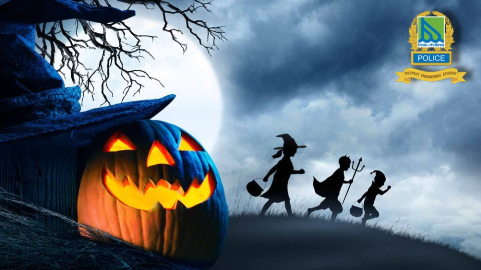 Trois Rivieres Police warning for Halloween