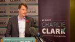 Charlie Clark said he will create 15,000 new jobs in Saskatoon in his next term if re-elected.