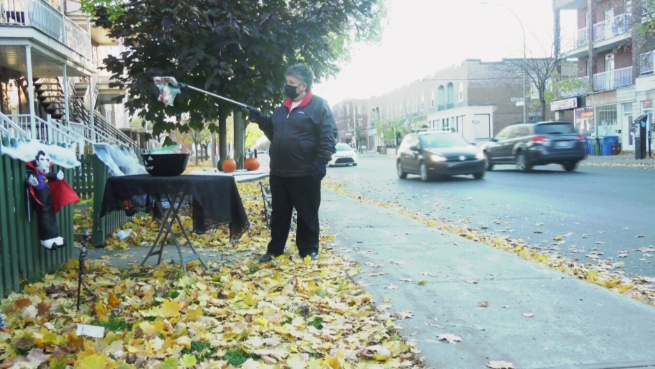 Despite the pandemic, Montrealers got creative when it came to the usual Halloween traditions.