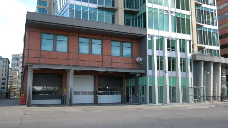 Fire Station 6 in Calgary