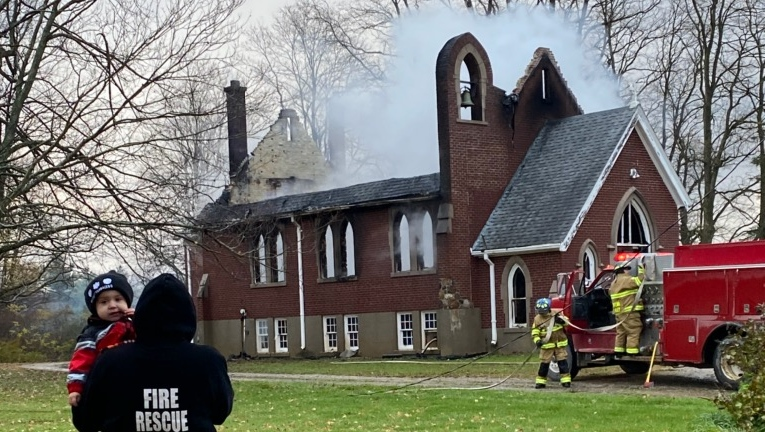 St. Andrews Anglican Church Fire