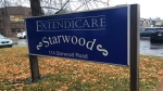 Extendicare Starwood long-term care home in Ottawa. Nov. 1, 2020. (Ted Raymond / CTV News Ottawa)