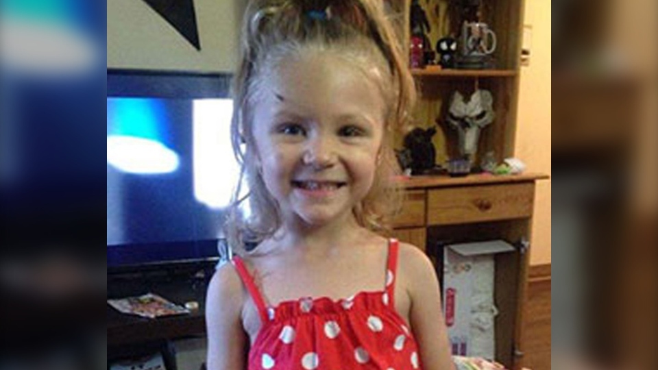 Three-year-old Ivy Wick died from her injuries in a Calgary hospital in October 2017 (supplied)