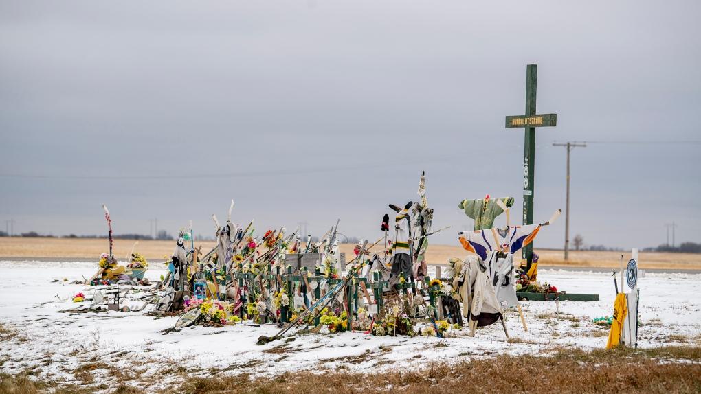 Humboldt Broncos memorial