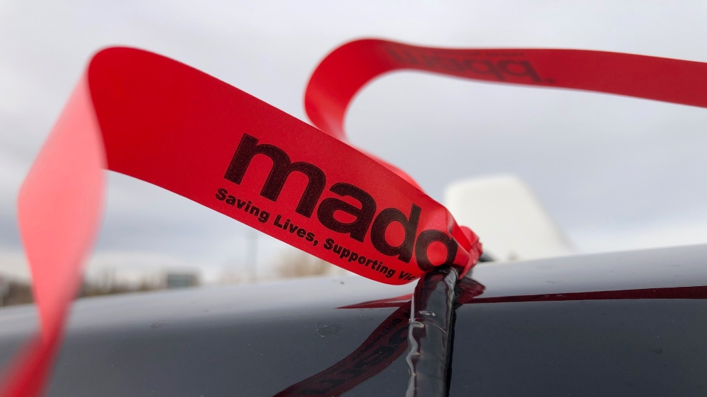 MADD ribbon