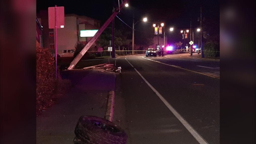 esquimalt halloween crash