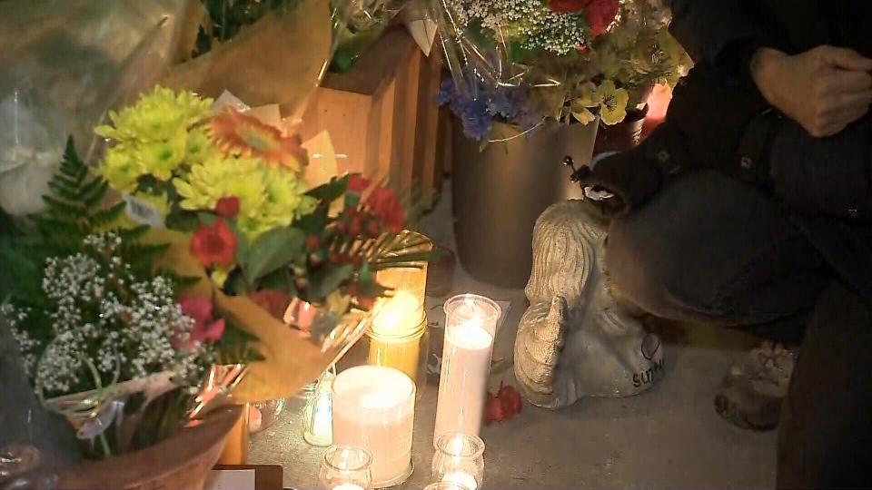 Quebec city stabbing vigil