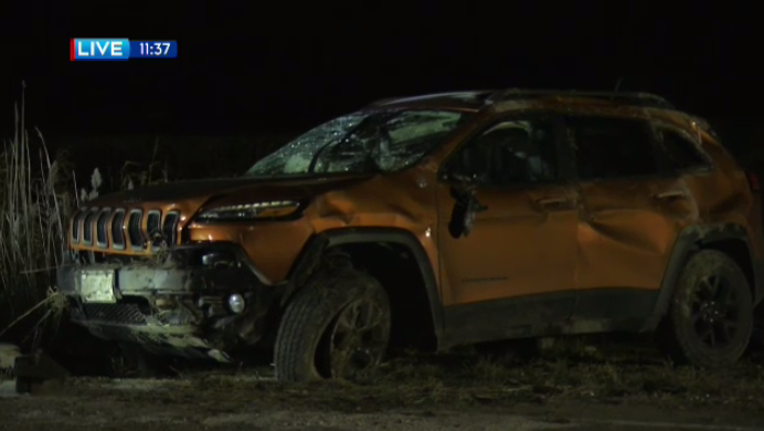 Crash in Wellesley sends one man to hospital