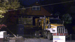B.C. heritage home moved by truck