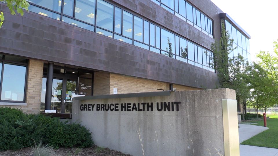 Grey Bruce Health Unit (Mike Arsalides/CTV News)