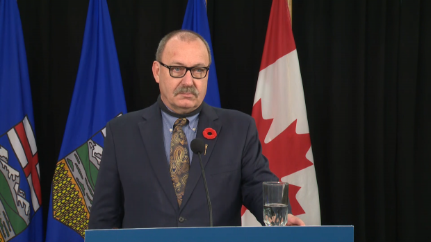 Alberta Transportation Minister Ric McIver's Bill 43, introduced Nov. 3, 2020, would allow the province to collect toll fees on new roads and bridges, starting with a Highway 697 bridge over the Peace River near the hamlet of La Crete, 500 kilometres northwest of Edmonton, to replace an existing ferry.