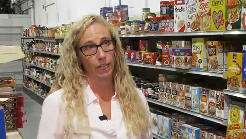 She's a veteran food bank volunteer and this week's Inspired Albertan, Donna Boechler. Darryl Janz reports