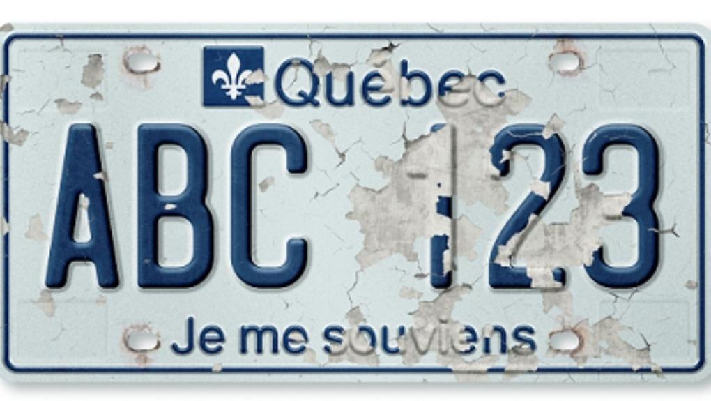Defective Quebec plates