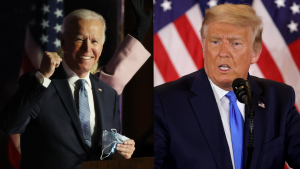 Despite no winner being declared on election night, Donald Trump and Joe Biden both spoke overnight.
