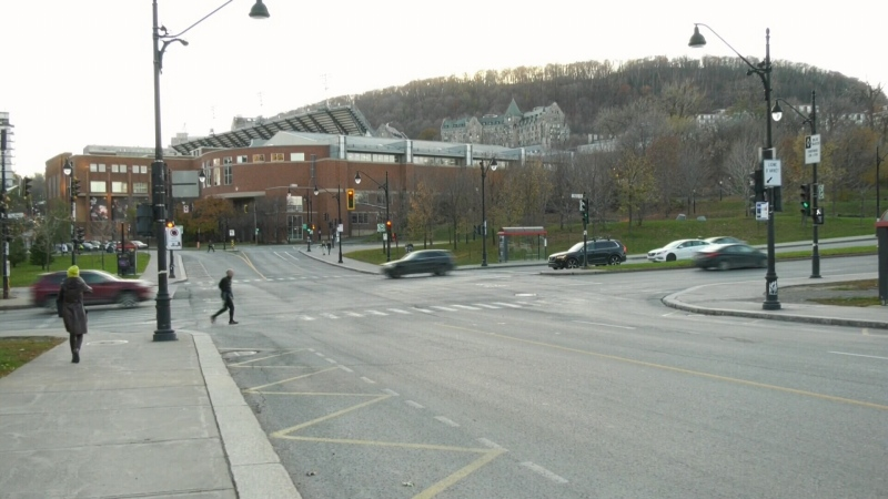 Pine Ave. in Montreal