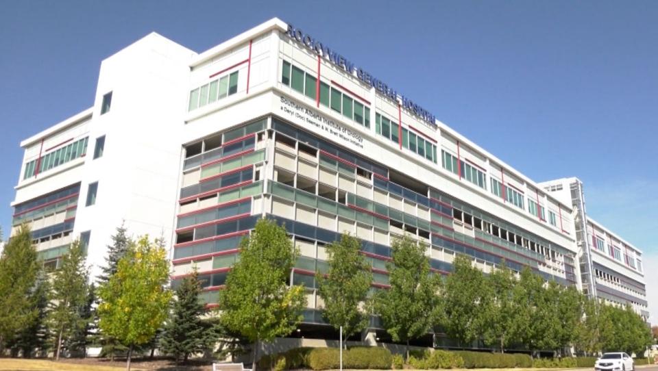 calgary, rockyview general hospital, outbreak, cov