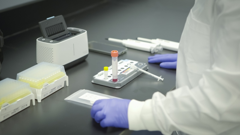 Health Canada has approved a new rapid test made by a Canadian company for use across the country. (Precision Biomonitoring)