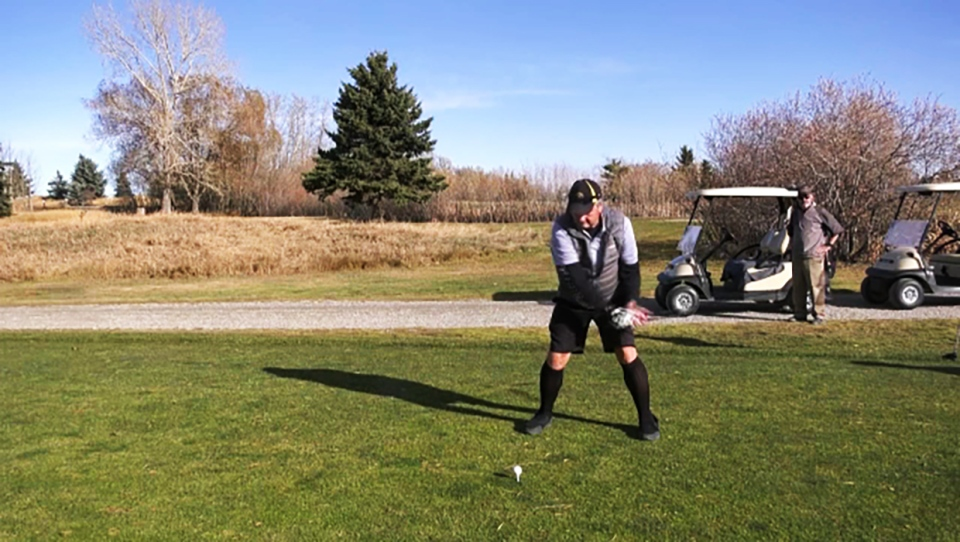 Golfers flocked to Strathmore Golf Course this week after it re-opened. Glenn Campbell reports