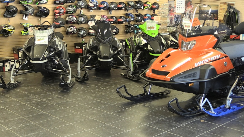 Increased snowmobile sales in North Bay hampered b