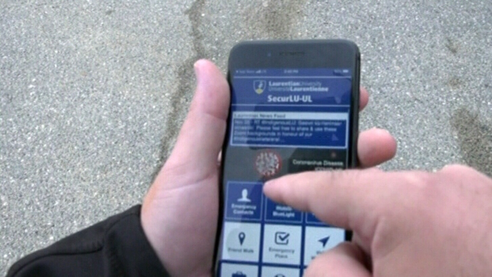 App boosts safety at Laurentian University