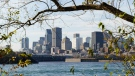 The skyline of the city of Montreal is seen on Thursday, November 5, 2020. THE CANADIAN PRESS/Paul Chiasson