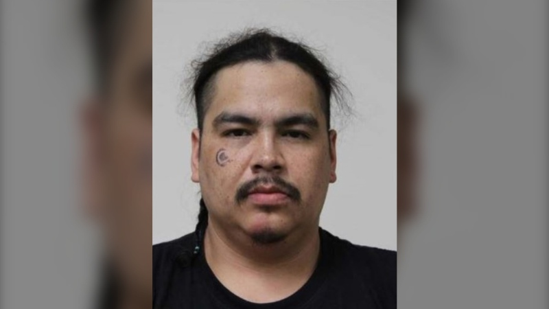 RCMP say Darren Larose is armed and dangerous and should not be approached.