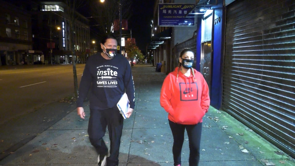 Downtown Eastside patrol