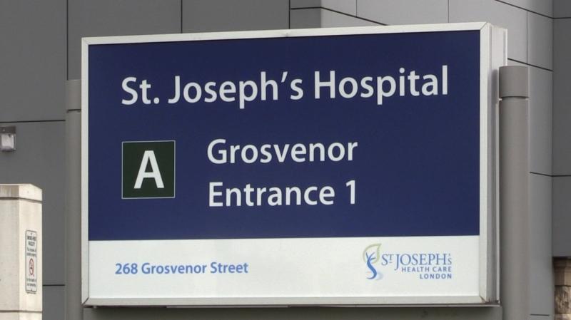 St. Joseph's Hospital (CTV London / Celine Zadorsky)