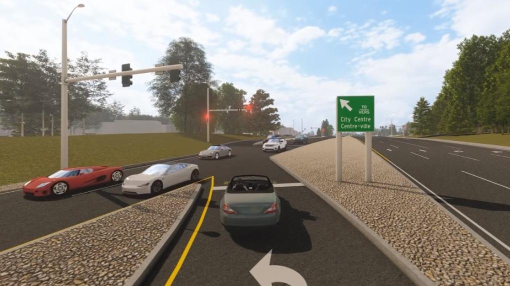 left lane video