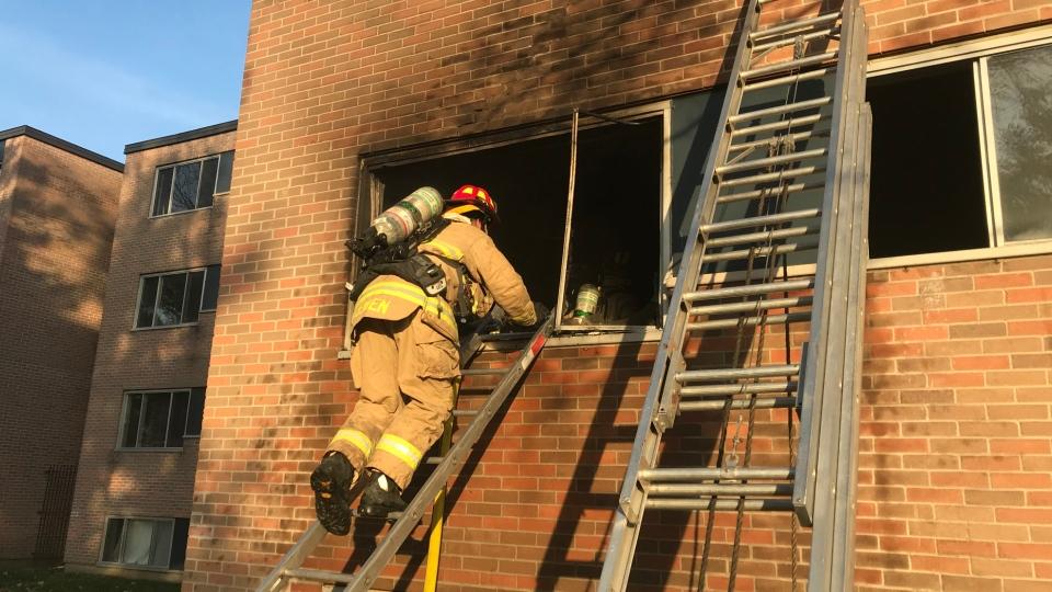 Downpatrick Road fire Nov 7 2020