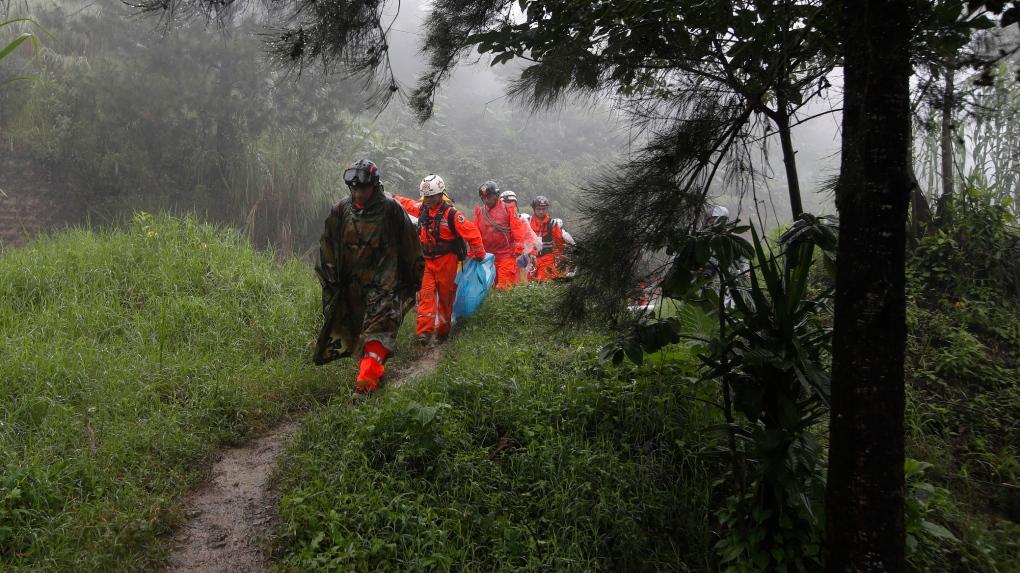Dozens dead as Eta wreaks waterlogged havoc on Central America