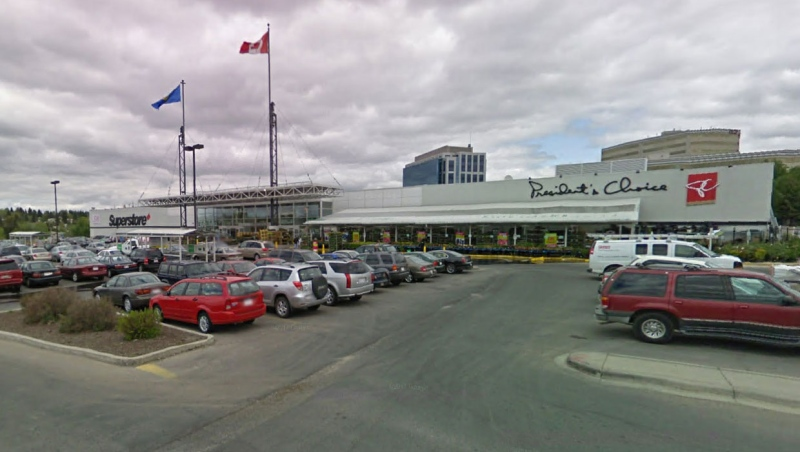 Three workers at the Real Canadian Superstore on Southport Road S.W. tested positive for COVID-19 on Dec. 1. (File/Google Maps)