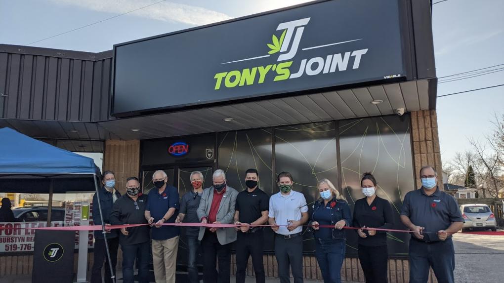 tony's joint opening