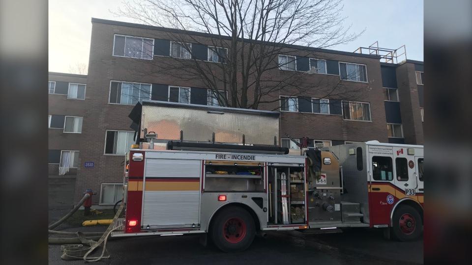 Fire Downpatrick Road Ottawa Nov 7