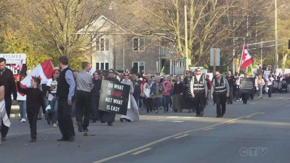 Aylmer protest
