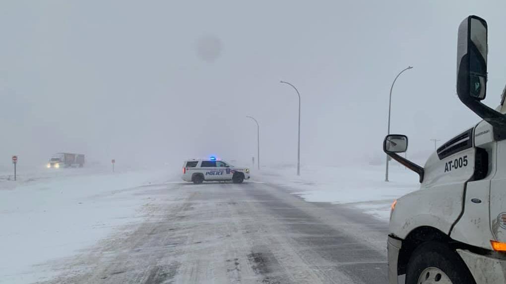 Highway 16 Snow