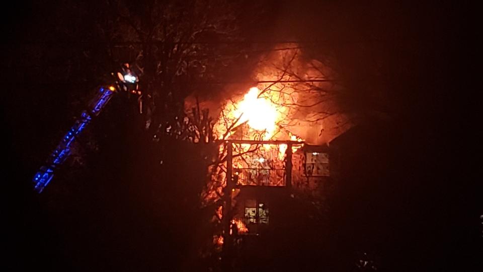 Strathroy Fire