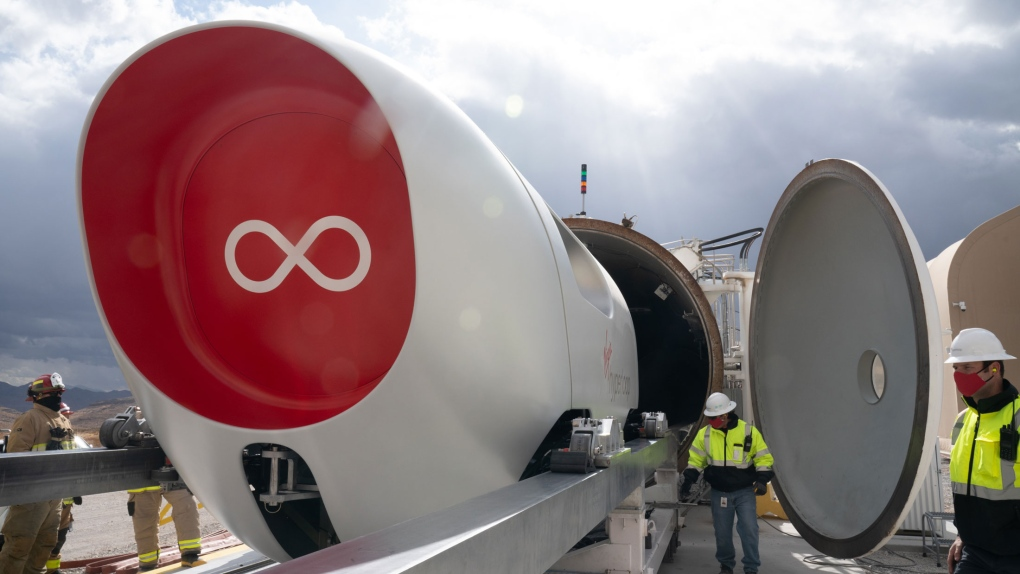 Virgin Hyperloop completes first mission in Las Vegas excursion