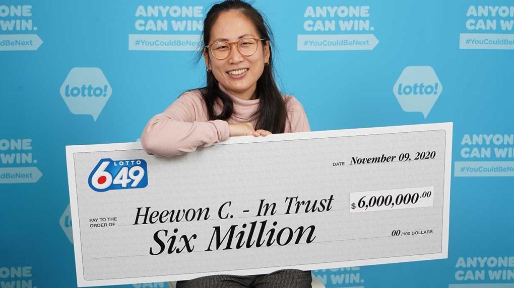 B.C. lottery winner